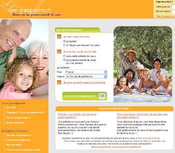 Super-grandparents.com : premier bilan après six mois d'exploitation