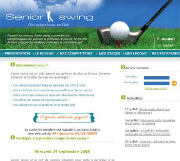 Senior-swing.fr : une carte « privilège » pour les golfeurs et golfeuses seniors