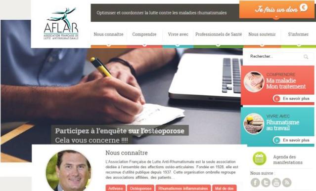 Ostéoporose : l'AFLAR lance une grande enquête auprès des patients