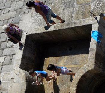 Six générations de femmes dans une même famille au Mexique