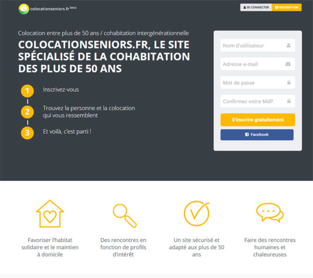 Colocationseniors.fr : un site pour faciliter la colocation senior
