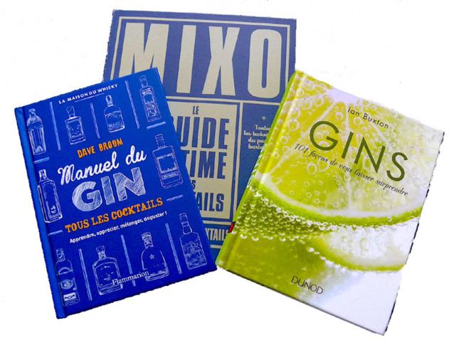 Les gins du monde et les meilleures adresses de cocktails (livres)