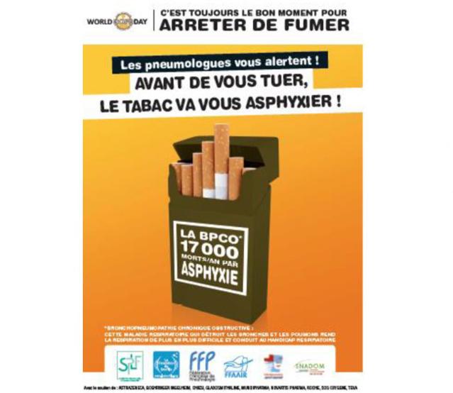 BPCO : avant de vous tuer, le tabac va vous asphyxier