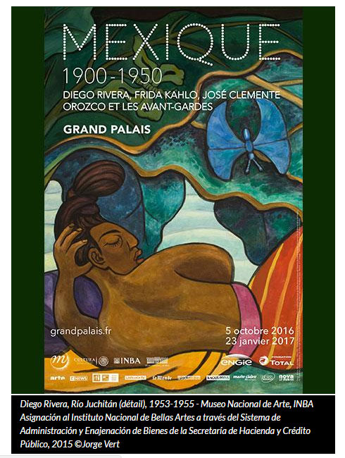 Mexique 1900-1950 : belle expo au Grand Palais à Paris