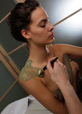 Algothérapie avec Corinne Dreano, thérapeute au Miramar Crouesty