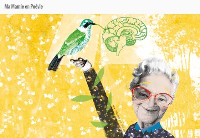 Ma mamie en Poévie : un livre interactif pour aborder Alzheimer avec les enfants