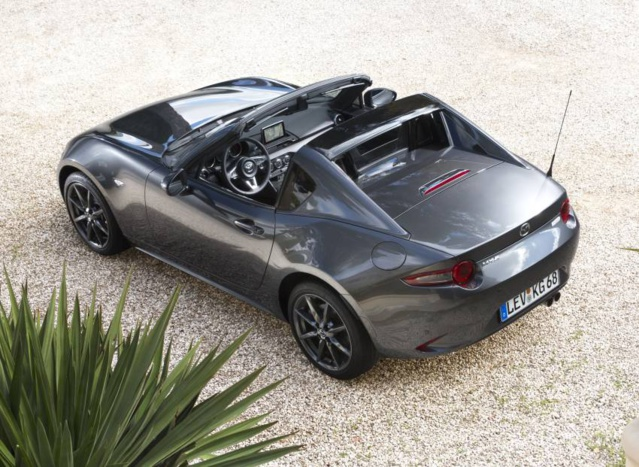 MR-5 RF 2.0 160 CH : le plaisir automobile existe encore grâce à Mazda
