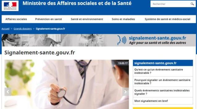 Signalement-sante.gouv.fr : pour signaler un événement sanitaire indésirable