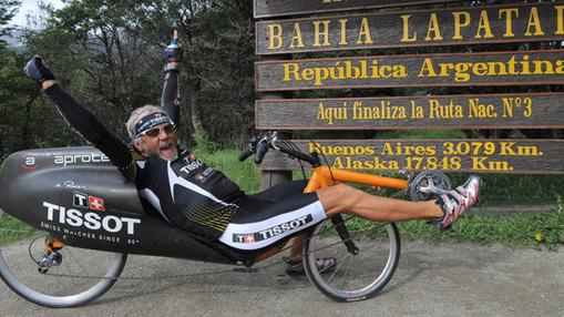Tissot Transamerica : Jean-Philippe Patthey, un senior de 57 ans « explose » le record