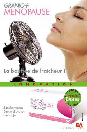 Bouffées de chaleur : Granio+Ménopause, une alternative au T.H.M et au soja