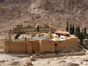 Monastère de Sainte-Catherine, Egypte, copyright Senioractu.com