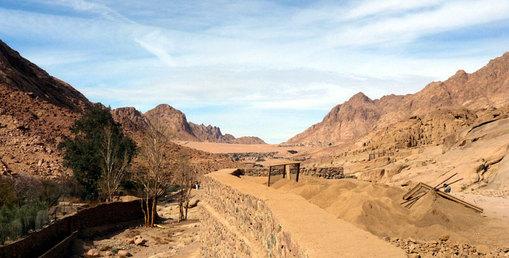 Vue du Sinaï, copyright Senioractu.com