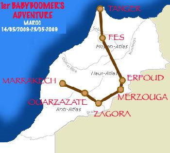 Babyboomer's Adventure Raid Maroc 2009 : un rallye réservé aux plus de 50 ans