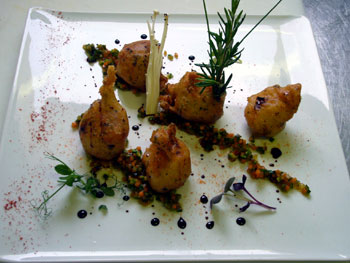 Coquillages et crustacés : des cours de cuisine au Château La Chenevière en Normandie