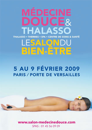 M decine douce et thalasso 26 me dition du salon du for Salon du bien etre paris