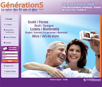 GénérationS : 3ème édition du salon des 50 ans et plus de Strasbourg