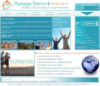 Partage-senior.net un nouvel intervenant dans la colocation senior