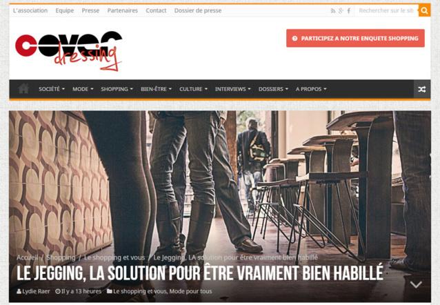 Bien à porter : un beau label créé par l'association Cover