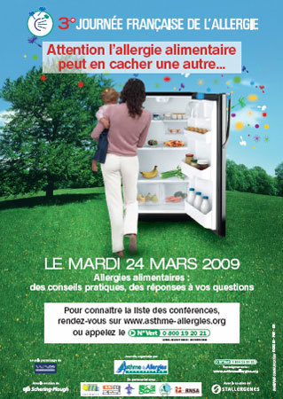 24 mars 2009 : 3ème Journée Française de l'Allergie