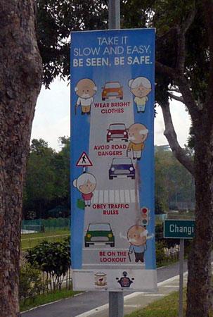 Singapour : de la prévention des piétons seniors…