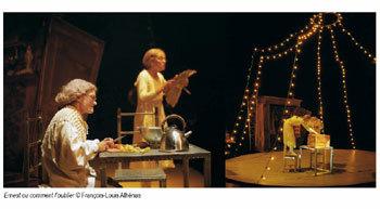 Ernest ou comment l'oublier : conte initiatique sur le passage du temps (théâtre)