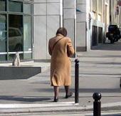 Paris : plus de la moitié des piétons tués en 2008 sont des seniors
