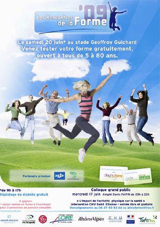 Les Rencontres de la Forme 2009 : promouvoir l'activité physique pour tous les âges