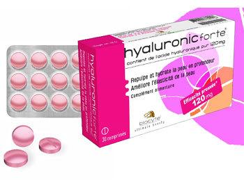 Hyaluronic Forte : un complément alimentaire anti-âge à base… d'acide hyaluronique