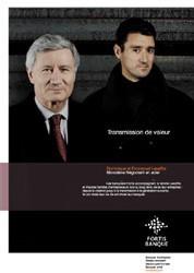 la transmission d'entreprise : E. et D. Lesaffre père et fils – Nicodeme (acier)