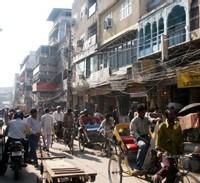 Rue du Vieux Delhi © Karine Vincent