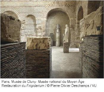 Les thermes de Cluny : unique témoignage des bâtiments romains du Paris antique, au Musée national du Moyen Age