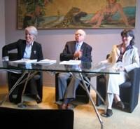 Michèle Frémontier, Pr Jean-Maire Léger et Pascale Dorenlot
