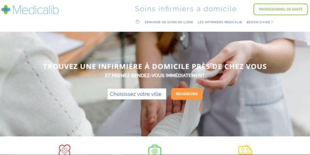 Medicalib : une plateforme qui met en relation patients et infirmiers à domicile