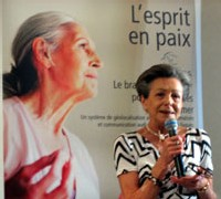 Catherine Ollivet, présidente de l'association France-Alzheimer 93