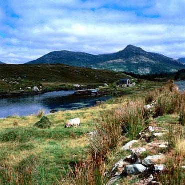 Connemara, crédit photo Office du tourisme irlandais, Roger Kinkead