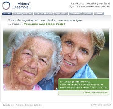 Aidonsensemble.fr : un nouveau site Internet pour aider les aidants familiaux
