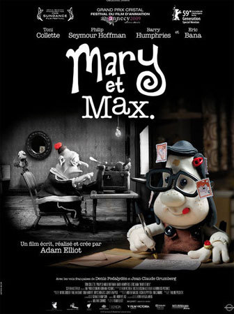 Mary et Max, Copyright Gaumont