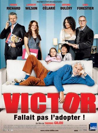 Victor ou comment une famille adopte un vieux monsieur sur le point d'être expulsé (film)
