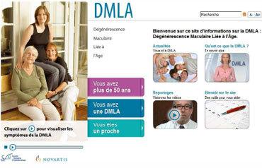 DMLA : une nouvelle plateforme Internet au service des malades et de leurs proches