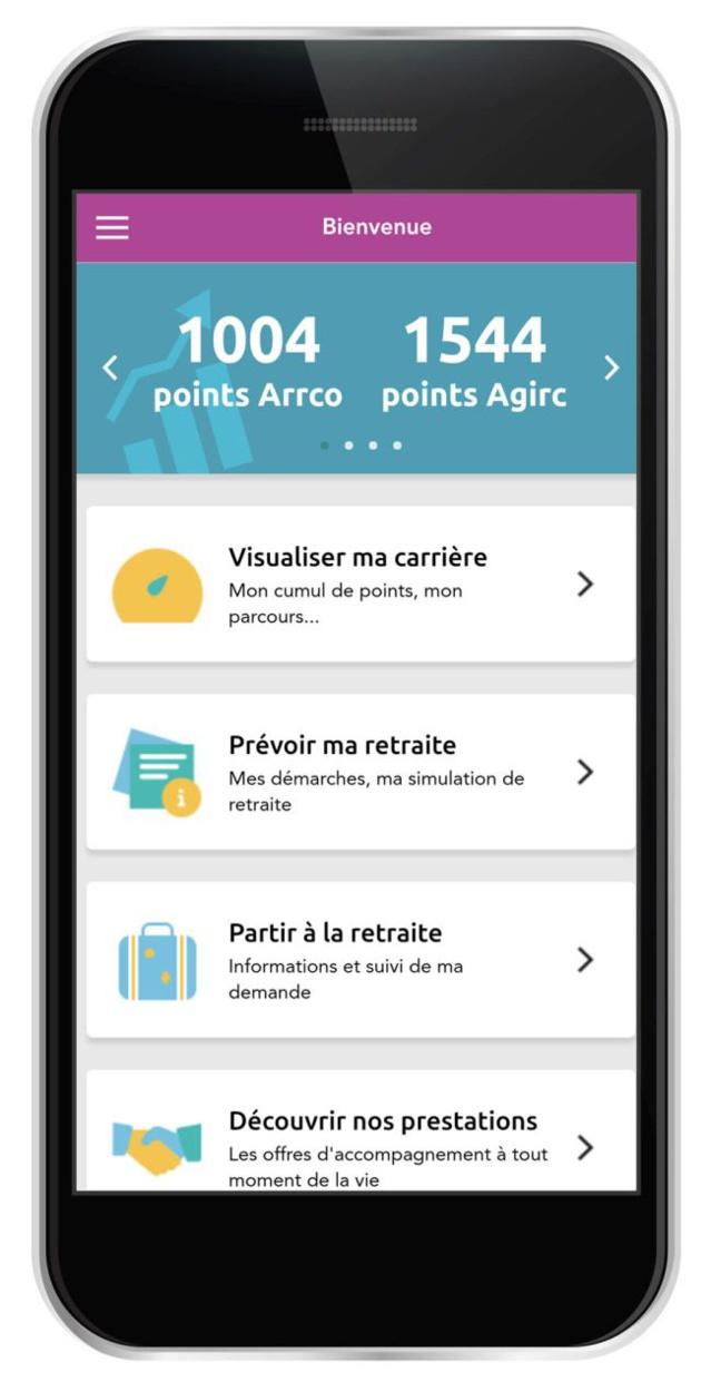 Retraite complémentaire : une nouvelle version pour l'appli smart'retraite