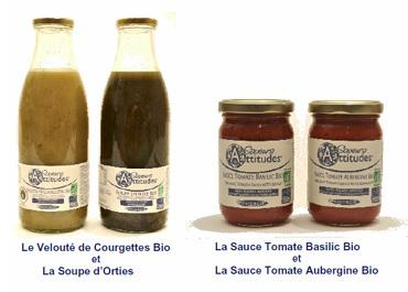 Naturgie propose quatre nouvelles soupes et sauces bio à index glycémique maitrisé