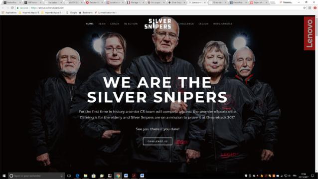 Silver Snipers : de jeunes gamers vont affronter une équipe de vétérans