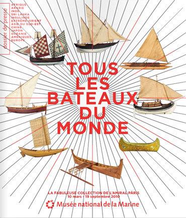 Tous les bateaux du monde : la fabuleuse collection de l'amiral Pâris au Musée de la Marine