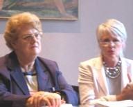 Christiane Martel et Michelle Frémontier