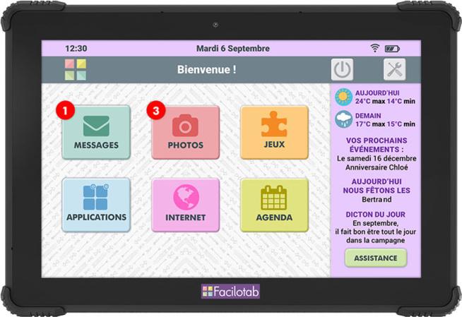 L Onyx :  la nouvelle tablette renforcée Facilotab