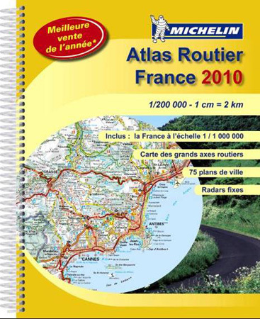 Atlas France Michelin 2010