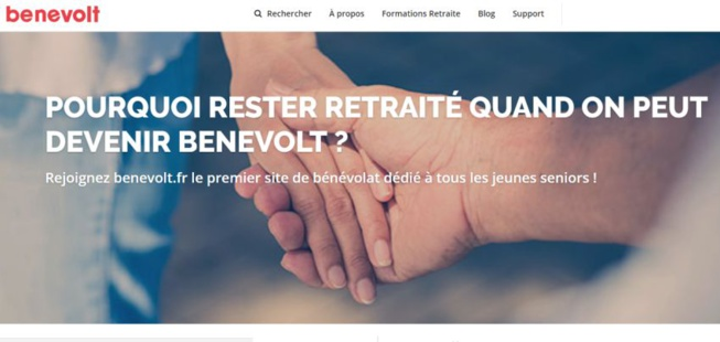 Benevolt : une start-up nantaise qui favorise le bénévolat des seniors