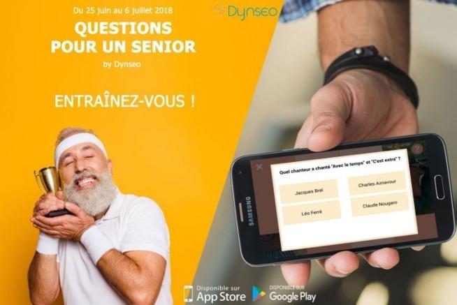 Questions pour un senior avec Dynséo jusqu'au 6 juillet 2018