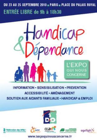 Village D&O Handicap & Dépendance : à Paris du 23 au 25 septembre 2010
