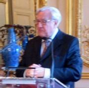 Christian Poncelet, président du Sénat